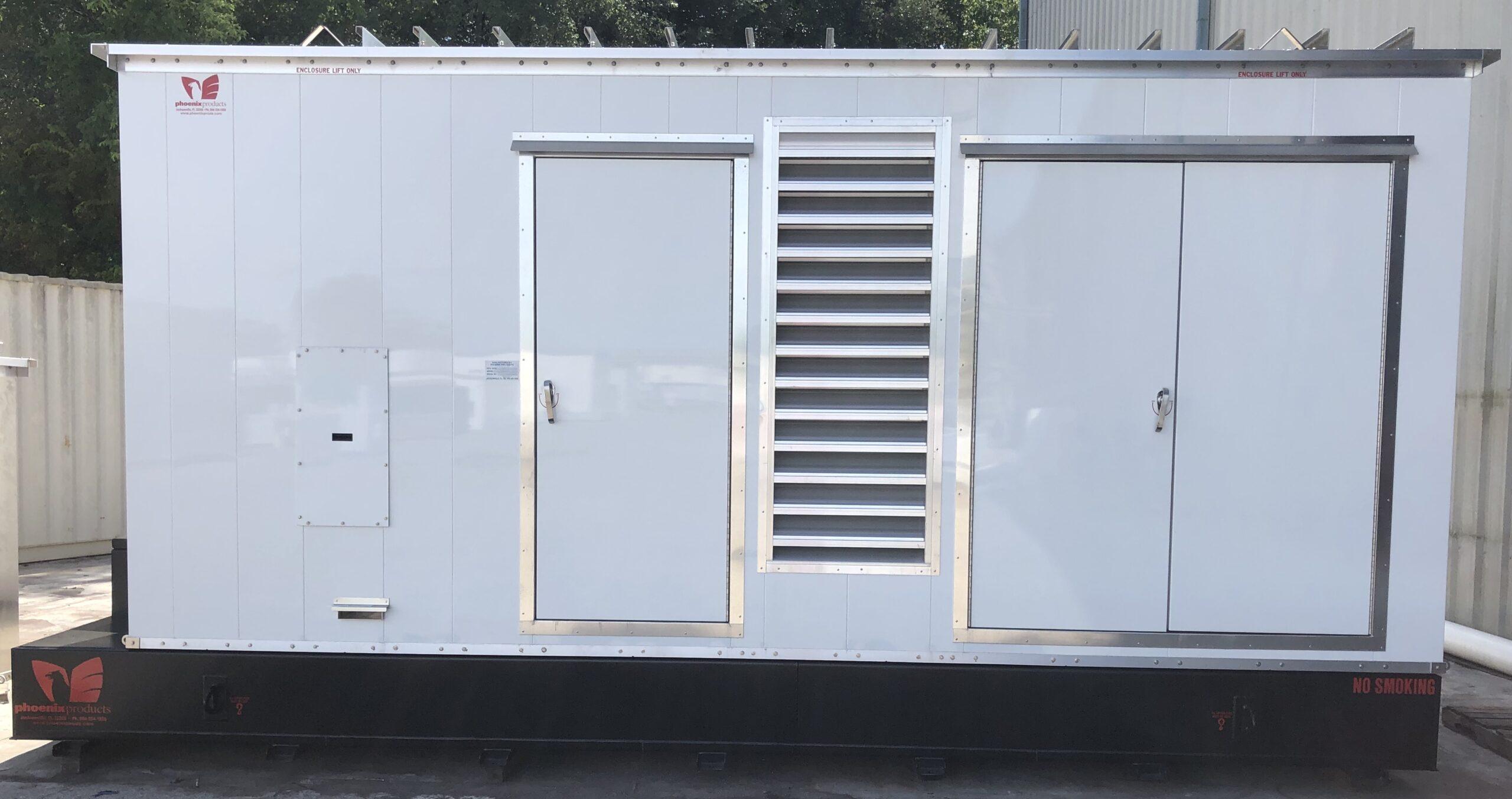 Phoenix-Products-Custom-Generator-Enclosure-With-UL-Sub-Base-Fuel-Tank