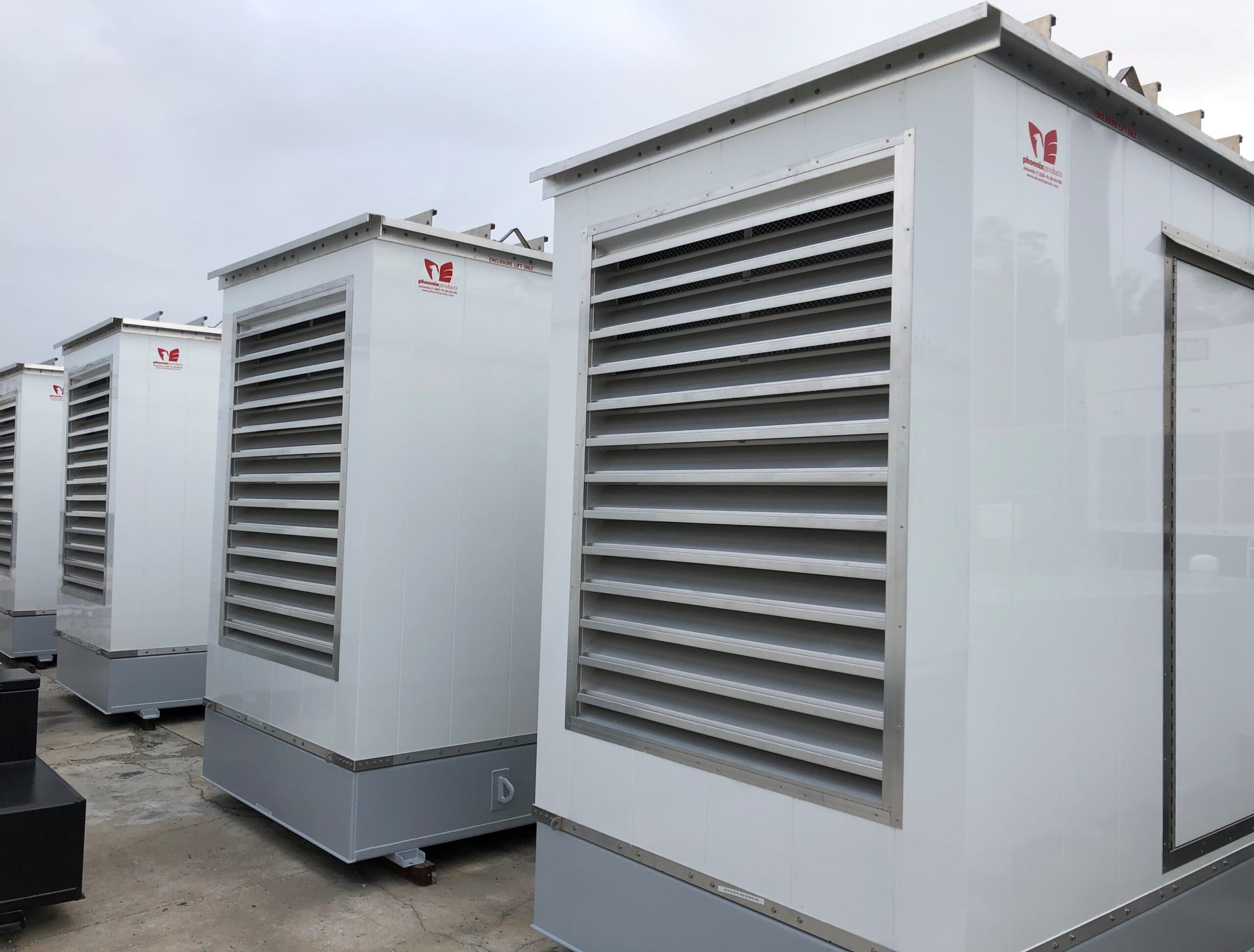 Custom-Aluminum-Generator-Enclosures-With-UL-Sub-Base-Fuel-Tanks