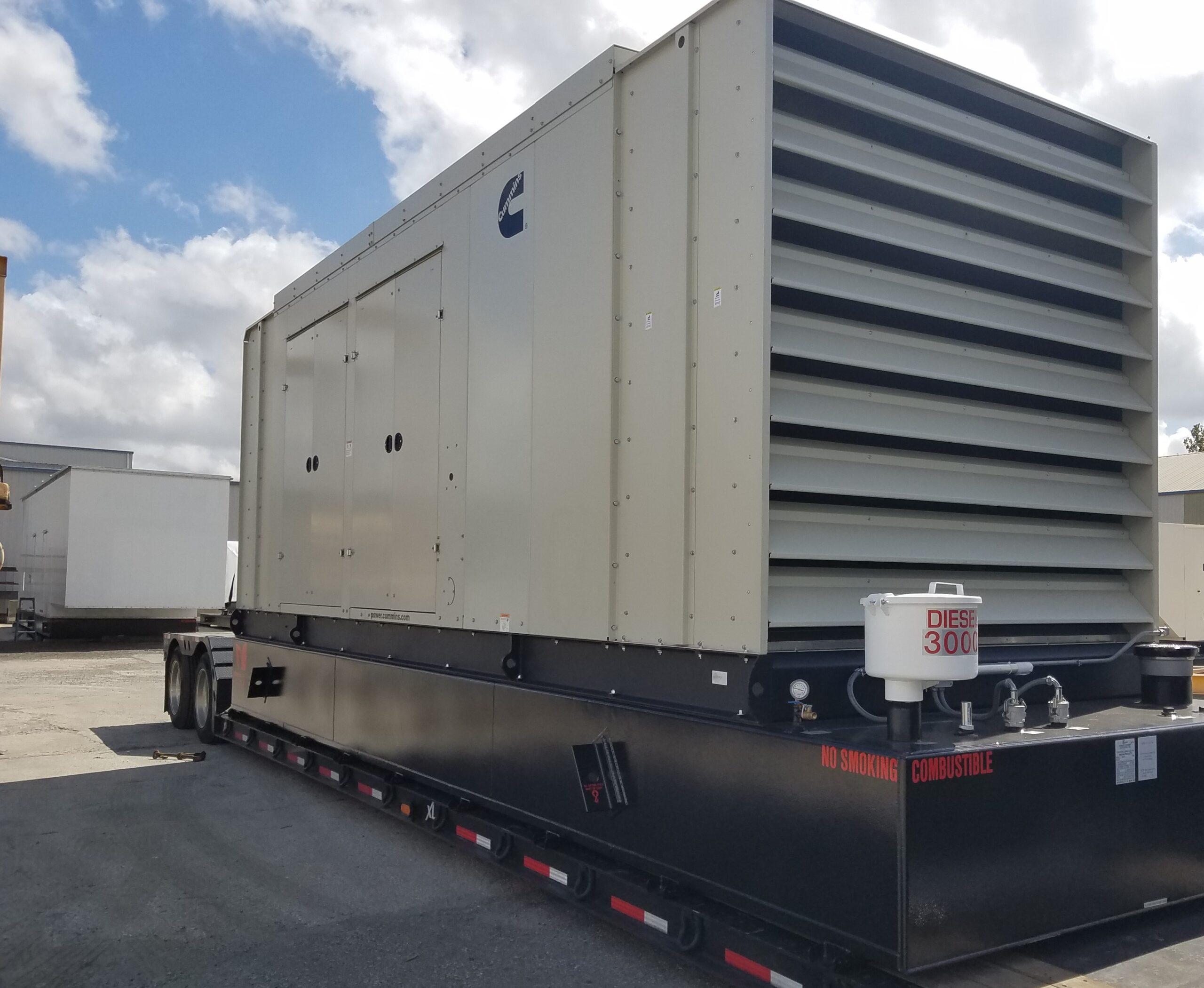 Cummins-Factory-Generator-Enclosure-With-UL-Sub-Base-Fuel-Tank
