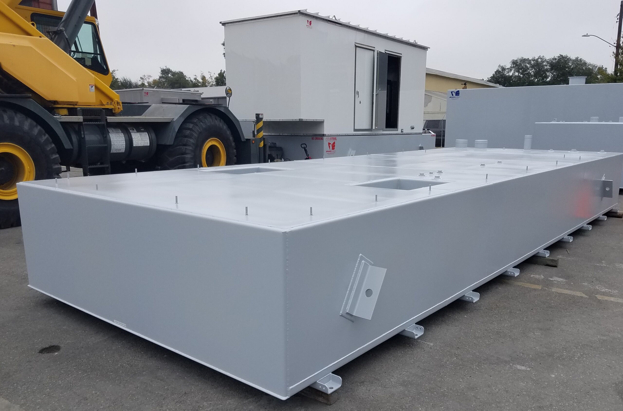 Custom-Aluminum-Generator-Enclosure-With-UL-Fuel-Tanks