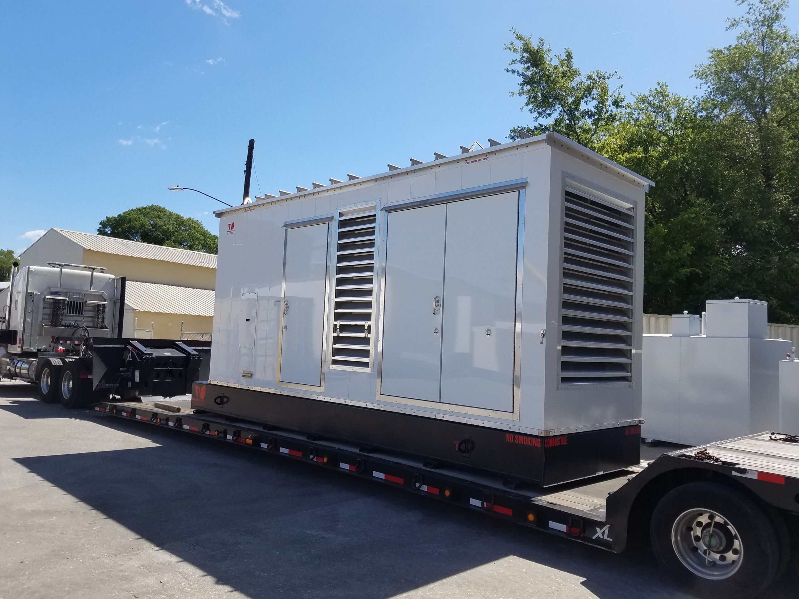 Phoenix-Products-Custom-Aluminum-Generator-Enclosure-With-Louvers