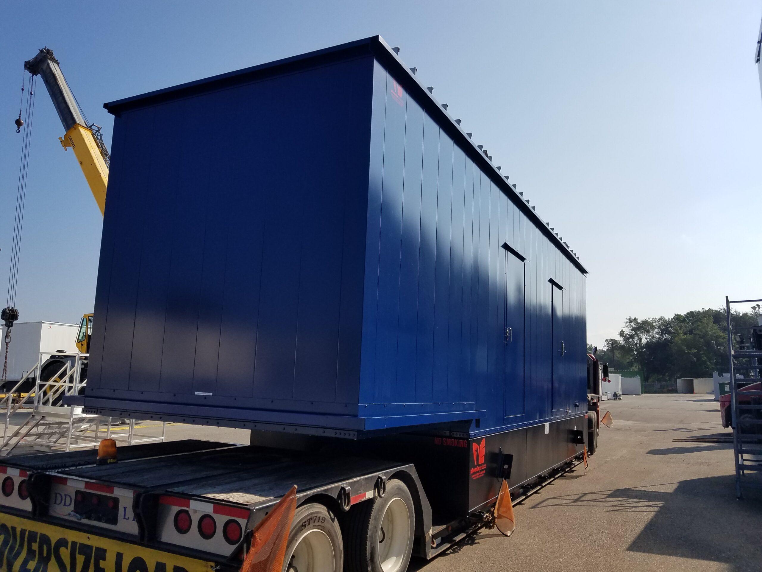 Custom-Aluminum-Generator-Enclosure-With-UL-Sub-Base-Fuel-Tank